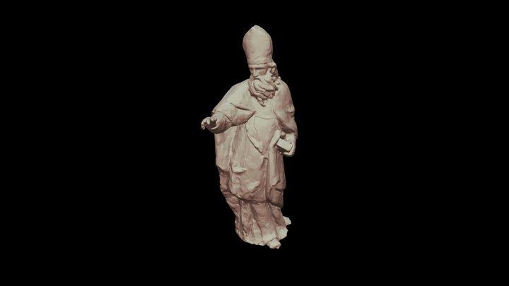 Saint Augustin 3D Model