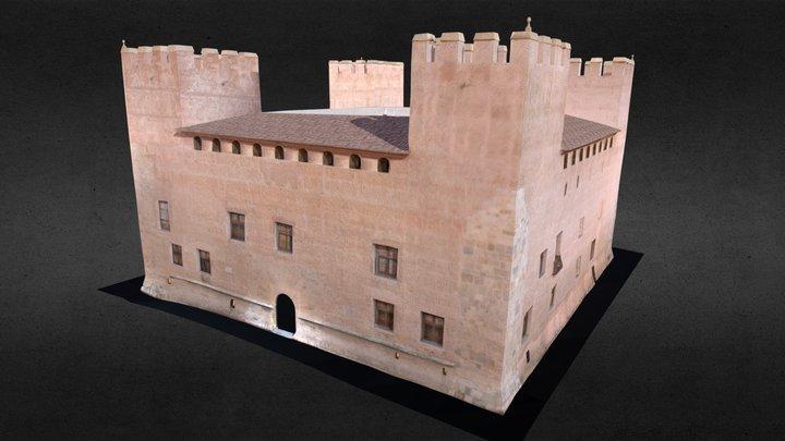 Castillo de Alaquás - Castell d´Alaquàs 3D Model