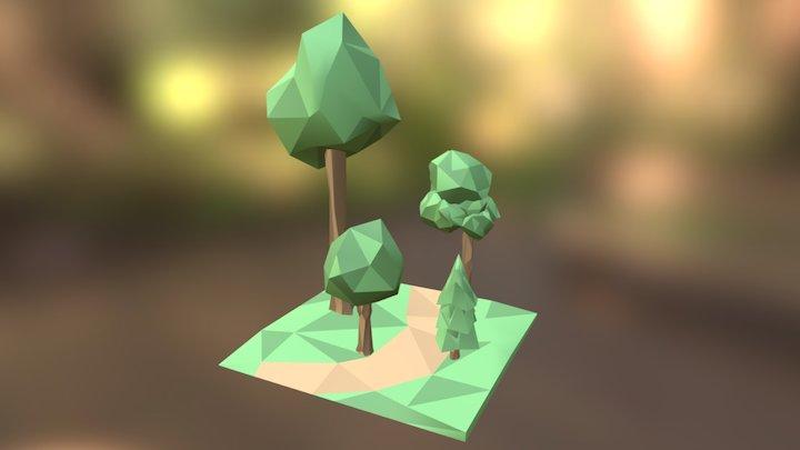 Trees 3D Model