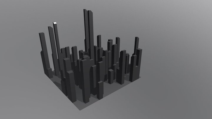 City Hub 3D Model