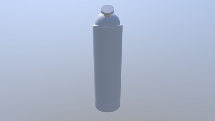 Powder Dispenser V3 3D Model