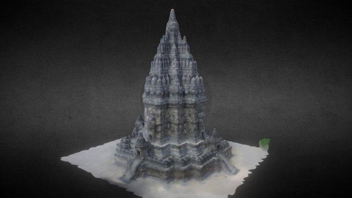 Prambanan Temple, Yogyakarta Indonesia 3D Model