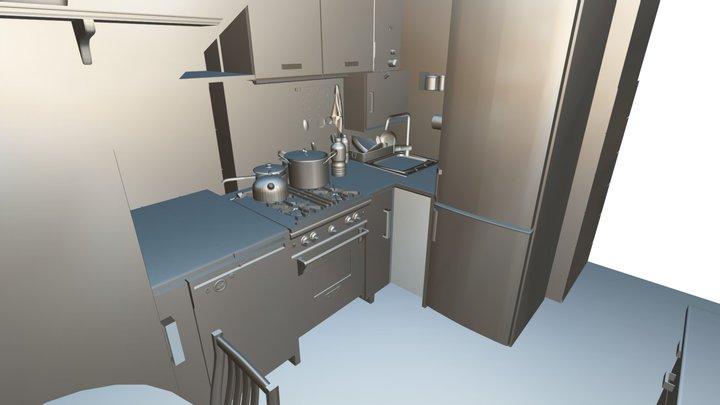 Kuchnia11j 3D Model
