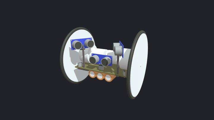 Mini tira-tampa 3D Model