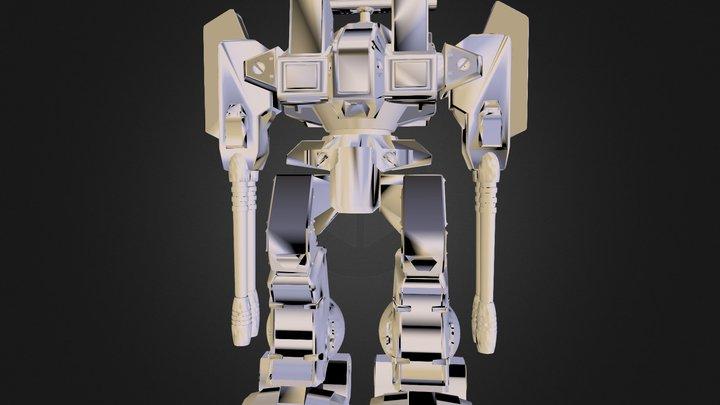 Macross Robotech Defender 3D Model