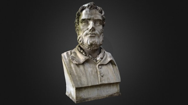 Baldassarre Peruzzi Roma 3D Model