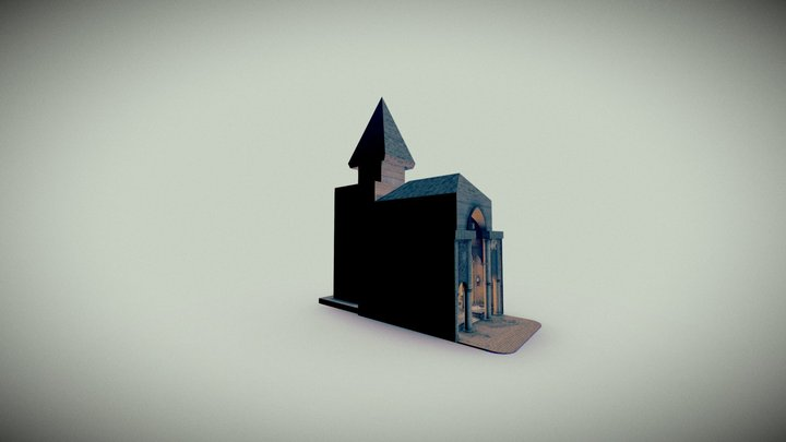 Accursed Church (Justin Wallace AAU) 3D Model