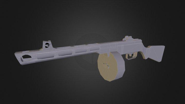 Ppsh 41 3D Model