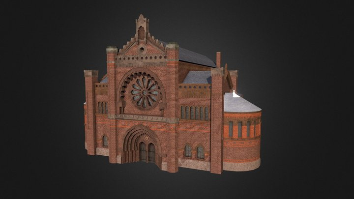 Liverpool Princes Road Synagogue 3D Model