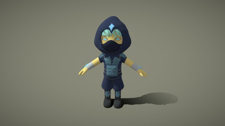 Tiny assassin 3D Model