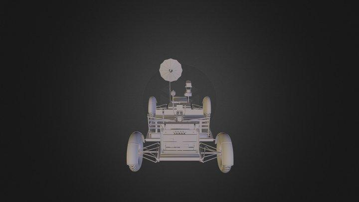 L U N A R R O V E R C O M P L E T O 3 D S 3D Model