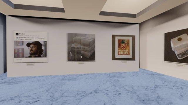 Instamuseum for @themostfamousartist 3D Model