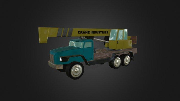 Industrial crane [Cities: Skylines] 3D Model