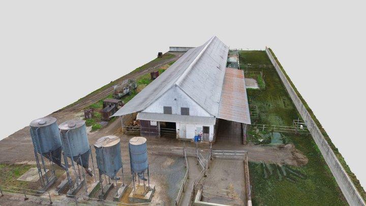 Poľnohospodárske družstvo Žlkovce - Ratkovce 3D Model