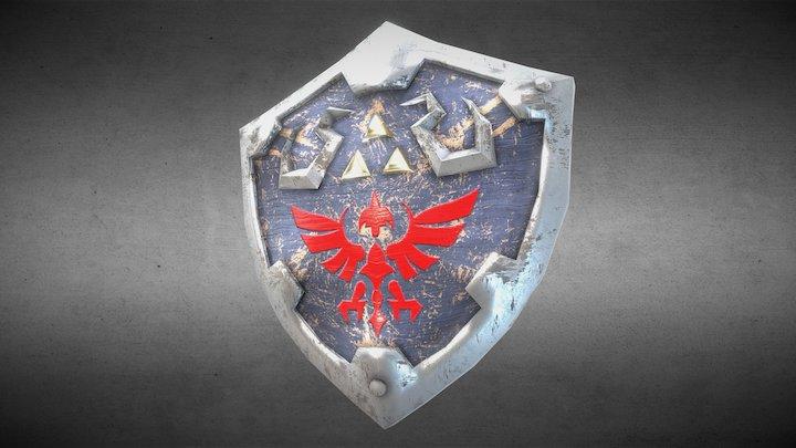 Zelda - Hylian Shield 3D Model