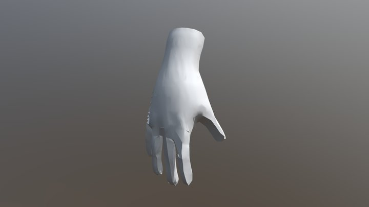 SCarroll SGD214 Assignment: Retopology FBX 3D Model
