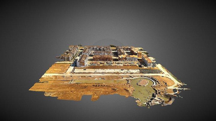 Flower Mound River Walk 3D Aerial Survey 3D Model