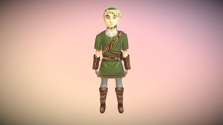 Link Low Poly 3D Model