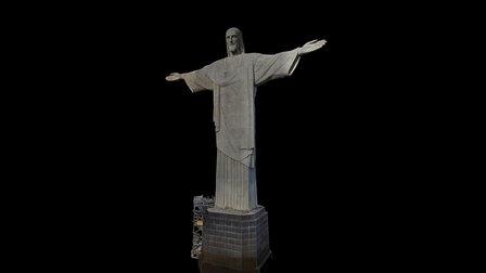 Christ the Redeemer Rio 3D Model