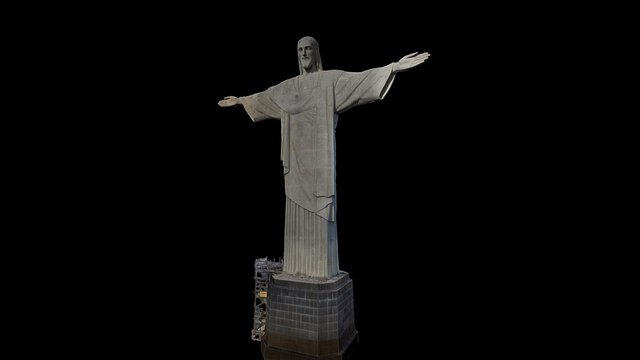 Christ the Redeemer Rio 3D Model