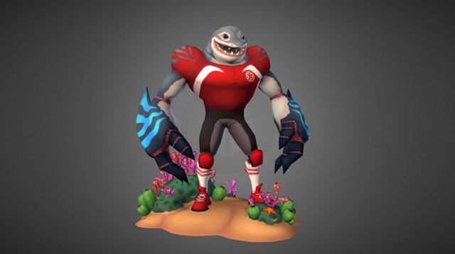 The Chumsquad - The Great White 3D Model
