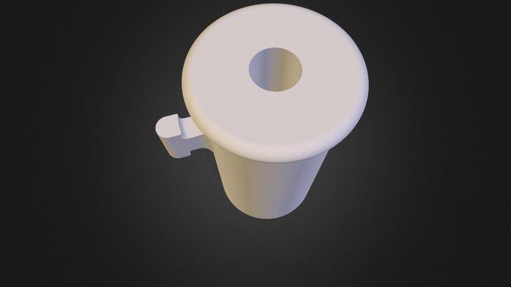 380 Barrel- Unthreaded 3D Model