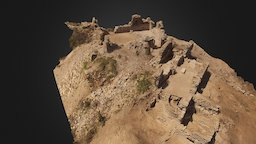 Acropolis at Antiochia ad Cragum 3D Model