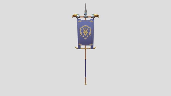 Alliance Banner (WoW) 3D Model