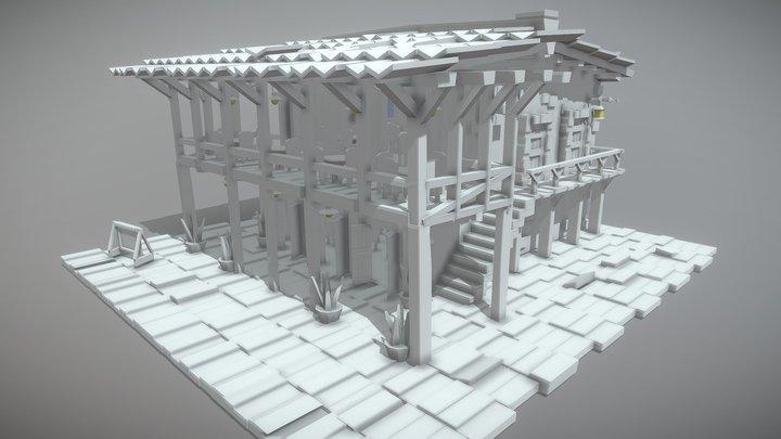 Medieval Restaurant 3d modeling 3D Model