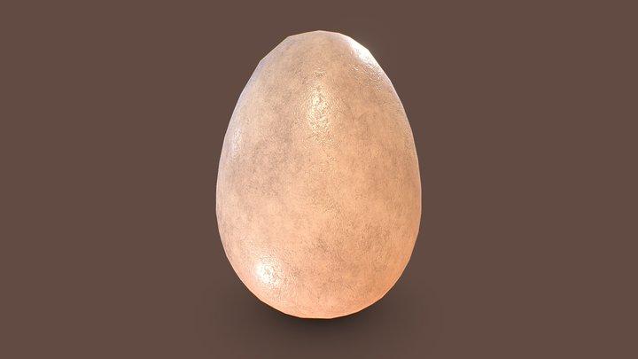 Egg 3D Model