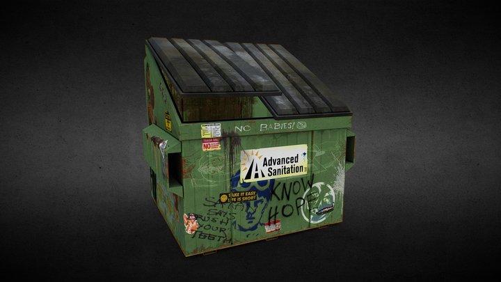Dirty Dumpster 3D Model
