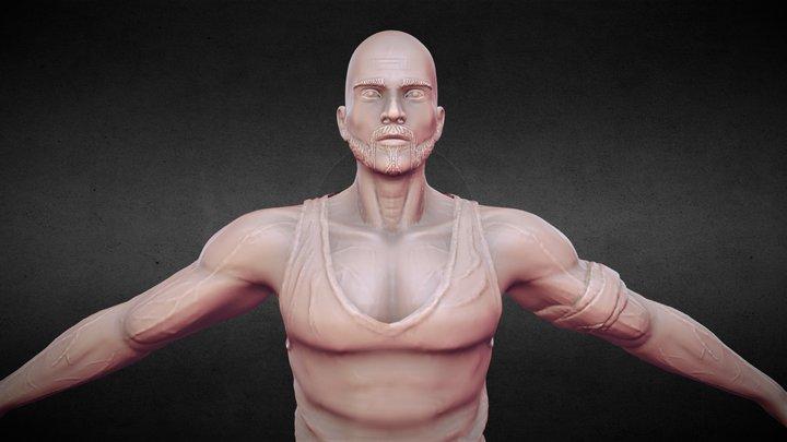 Character sculpture 3D Model