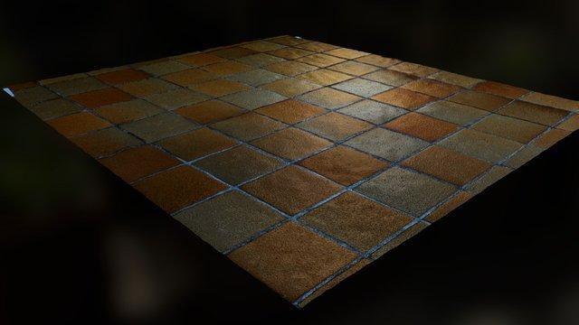 Fliesen, tile 3D Model