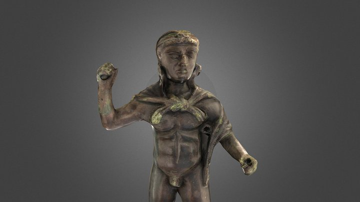 Eracle figurine 3D Model