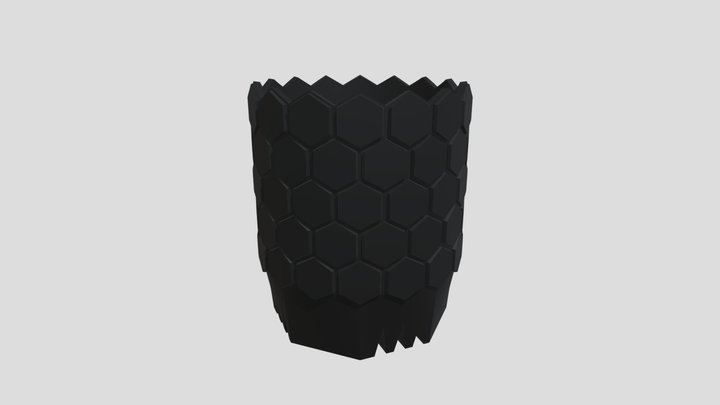 SSN prototype pot 2021SS #04 3D Model