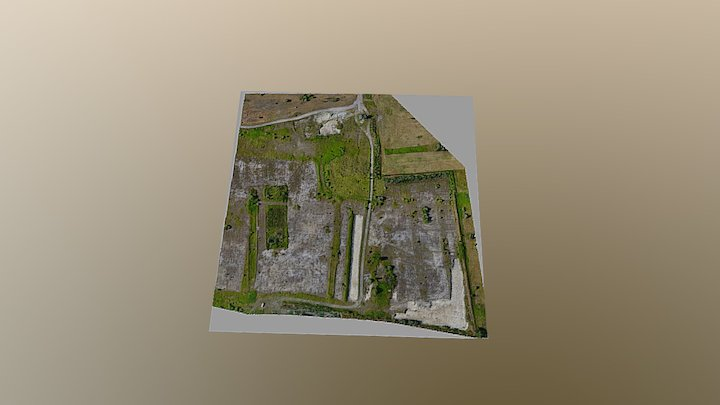 Homokbánya 3D Model