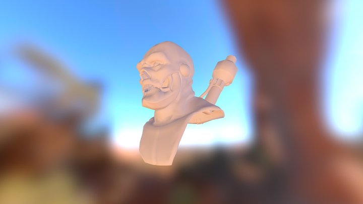 Amp_Head_Statue 3D Model