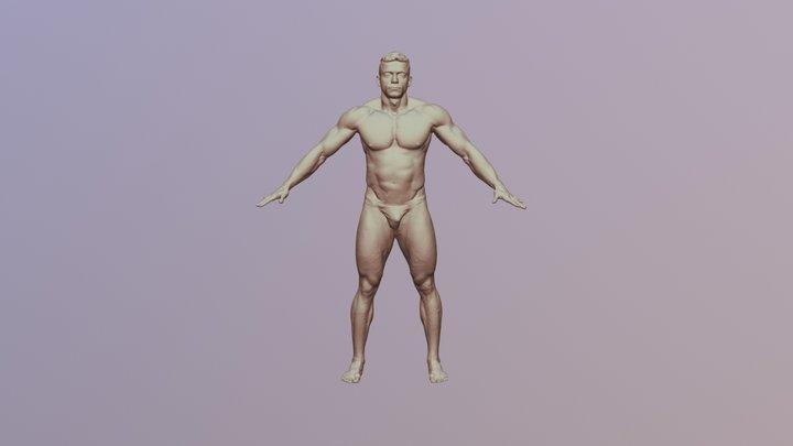 Roman_3DScan_NudeBody 3D Model