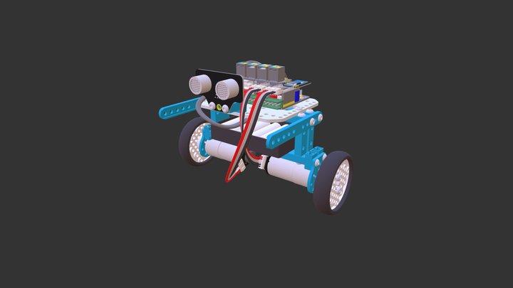 Ultimate2.0---Self-Balancing Robot 3D Model