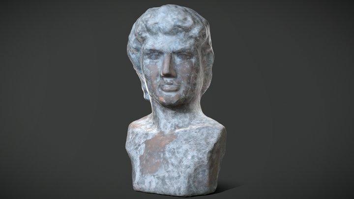 David Statue Bust - 3D scan 3D Model