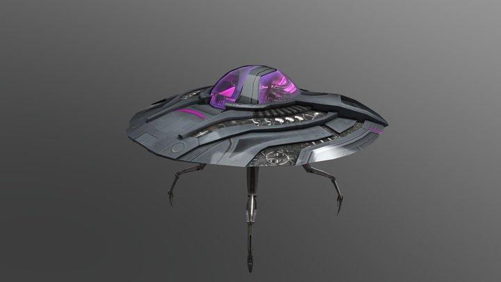 Crypto's Saucer 3D Model