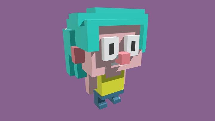 Cute Character 3D Model