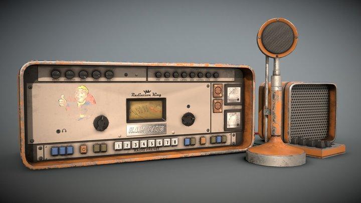 Fallout 4 Ham Radio 3D Model