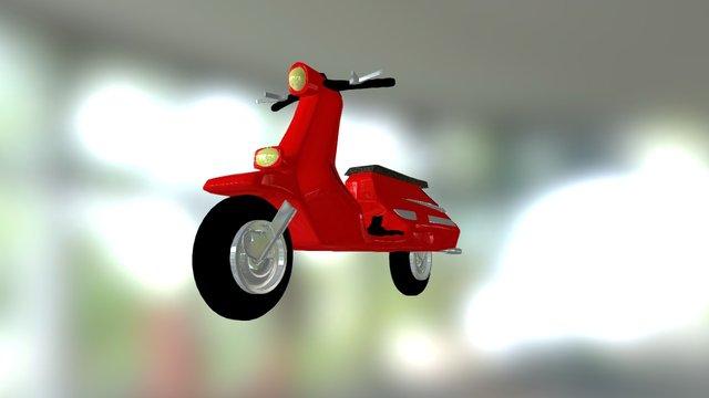 Motocicleta 3D Model