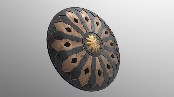Dark Star Shield 3D Model