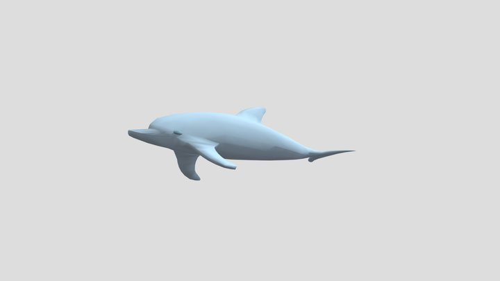 Amiga days - Dolphin 3D Model