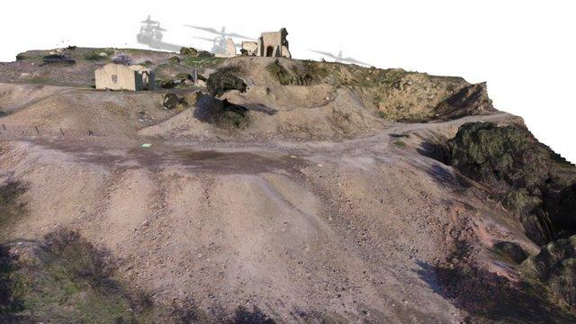 Mina de cobre Antigua Pilar - Colmenarejo 3D Model