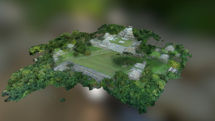 Site overview 3D Model
