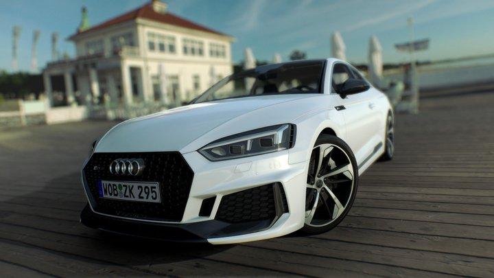 Audi RS5 2019 3D Model
