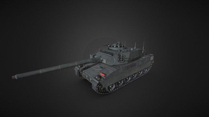 AMX-40 MBT 3D Model